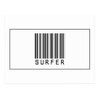 Barcode Surfer Post Card