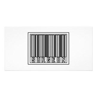Barcode Surgeon Customised Photo Card