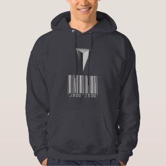 Barcode Tattoo Hoodie (dark)