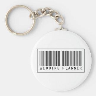 Barcode Wedding Planner Keychains