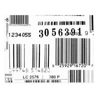 Barcodes Post Card