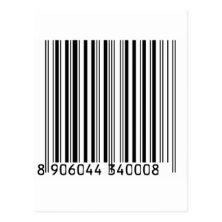 Barcodes Postcards