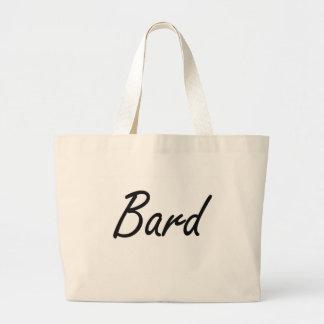 Bard Artistic Job Design Jumbo Tote Bag