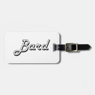 Bard Classic Job Design Bag Tags