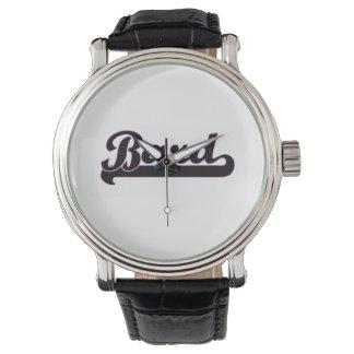 Bard Classic Job Design Wristwatch