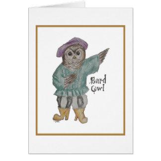 Bard Owl Card