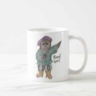 Bard Owl Coffee Mug