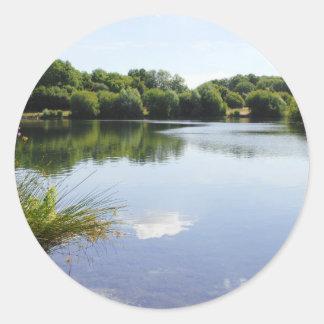 Barden Lake Classic Round Sticker