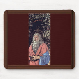 Bardi Altar Enthroned Madonna, John The Baptist Mouse Pad