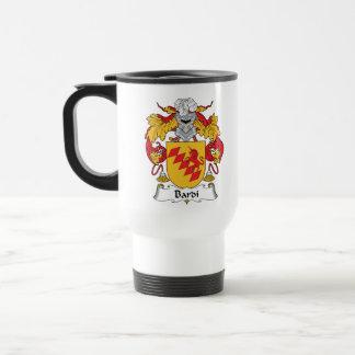 Bardi Family Crest Travel Mug