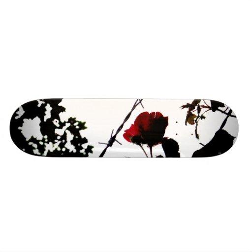 bardWIRE.Rose Skate Boards
