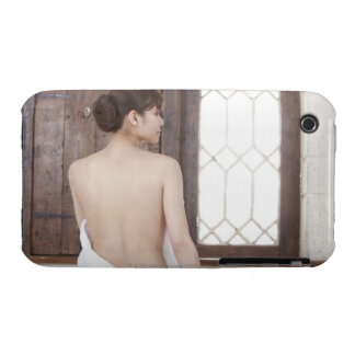 Bare Back of Young Woman Case-Mate iPhone 3 Cases