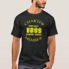 Bare-Butt Spanking Society Dark/Yellow T-Shirt