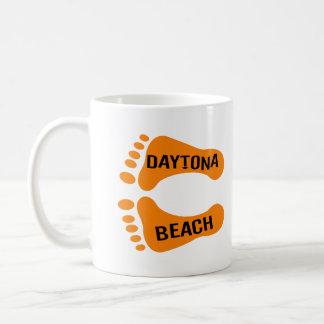 Bare Feet Daytona Beach Basic White Mug