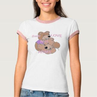 Bare Love Not Arms (No Guns) T-Shirt