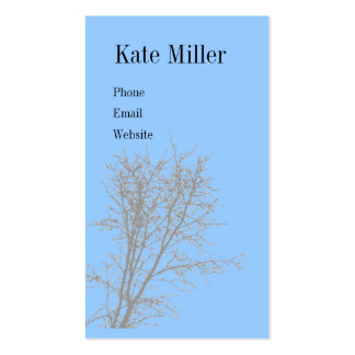 Bare Tree Business Card
