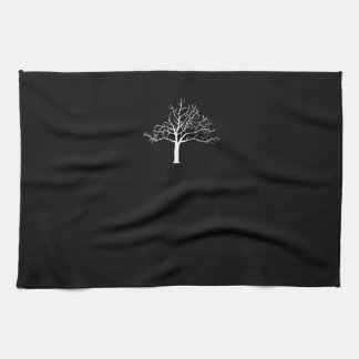 Bare Tree Design Tea Towel