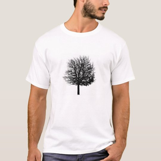 Bare Tree - Solitary Forest - Nature lover trees T-Shirt