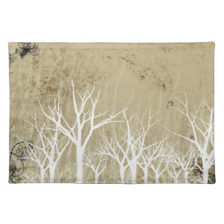 Bare Winter Trees Placemats