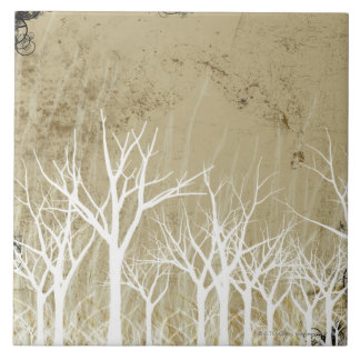 Bare Winter Trees Tile