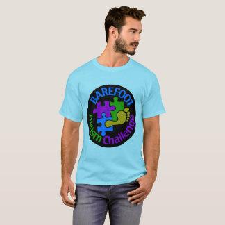 Barefoot Autism Challenge Men's Basic T-Shirt