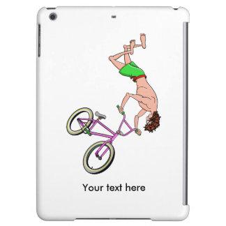 Barefoot BMX Ride Air Time
