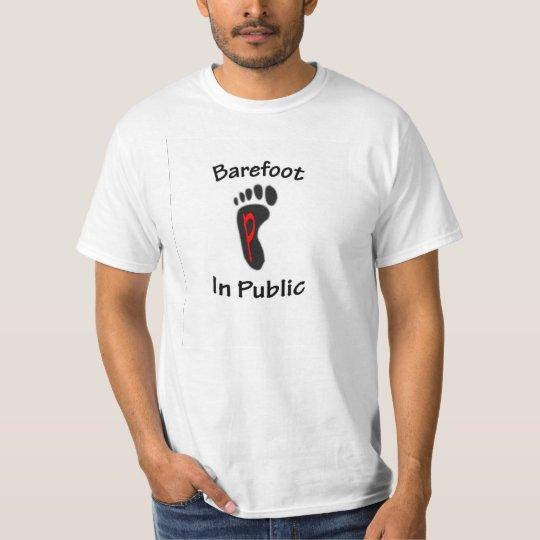 barefoot in public 2 T-Shirt