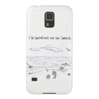 Barefoot on my beach Samsung Galaxy S5 Galaxy S5 Cover