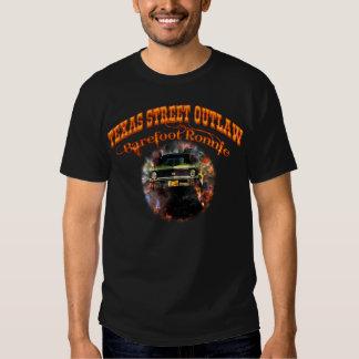 """""""Barefoot Ronnie"""" Green 71 Yenko Nova Tshirt/Black T Shirts"""