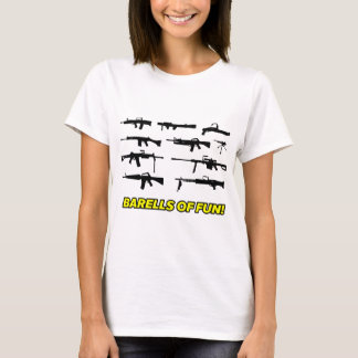 Barells of Fun- Gun design T-Shirt
