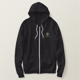Barely Human Embroidered Hoody