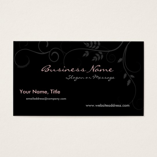 Barely There Vines Business Card