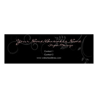 Barely There Vines Small Profile Cards Business Cards