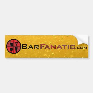 BarFanatic.com Bumper Sticker Car Bumper Sticker