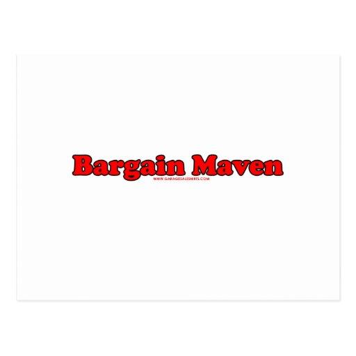 Bargain Maven Postcard