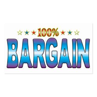 Bargain Star Tag v2 Business Card