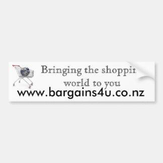 Bargains4u Bumper Sticker