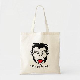 BargasArtworks Poopy head monkey Bag