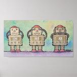 BargasArtworks Robots Print