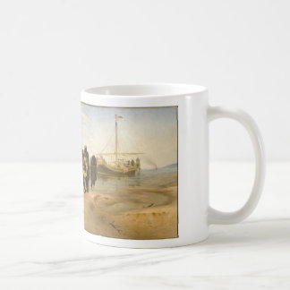 Barge Haulers on the Volga Basic White Mug