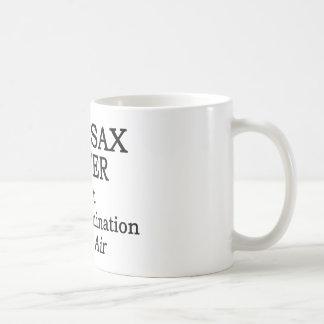 Bari Sax Hot Air Coffee Mug