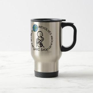 Bari Sax - World Revolves Around Mugs