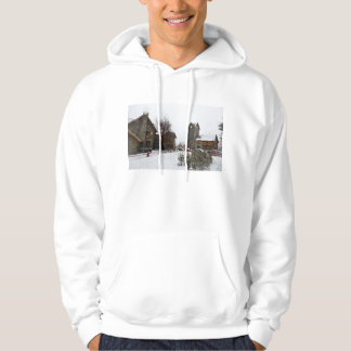 Bariloche Civic Center, Patagonia Argentina Hoodie
