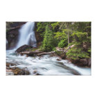 Baring Falls in Glacier National Park, Montana Canvas Print