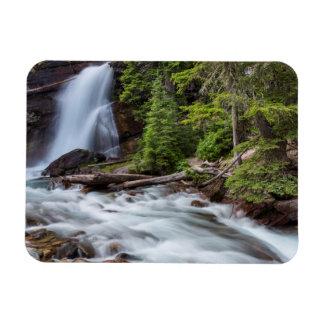 Baring Falls in Glacier National Park, Montana Magnet