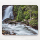 Baring Falls in Glacier National Park, Montana Mouse Mat