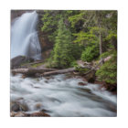 Baring Falls in Glacier National Park, Montana Tile