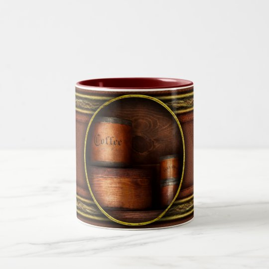 Barista - Coffee - Coffee and spice Two-Tone Coffee Mug