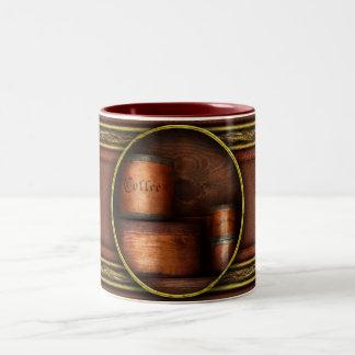 Barista - Coffee - Coffee and spice Two-Tone Mug