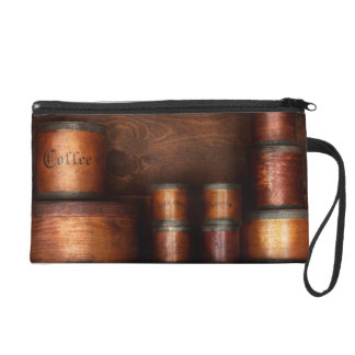 Barista - Coffee - Coffee and spice Wristlet Clutch